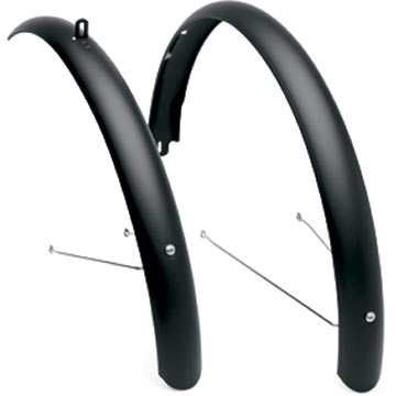Electra Townie Original Aluminum Fenders Color: Black