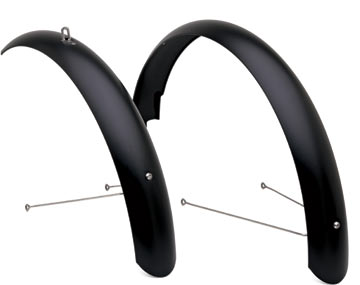 Electra Townie Aluminum Balloon Fenders Color: Matte Black