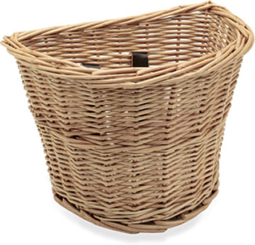 Electra Kids' Wicker Basket Color: Natural