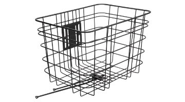 Electra Cruiser Steel Basket Color: Black