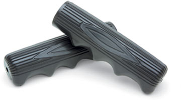 Electra Finger Groove Grips Color: Black