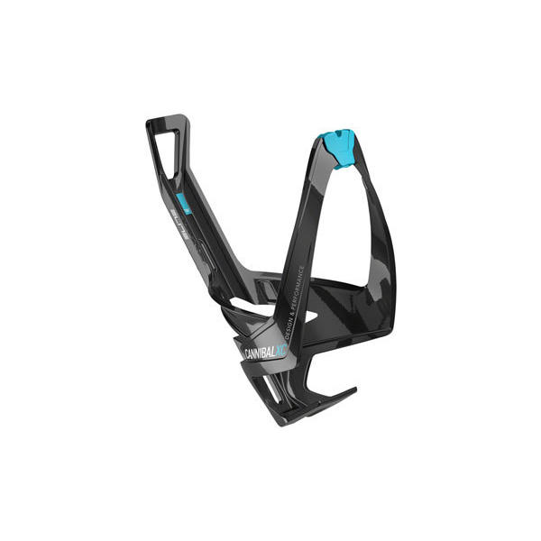 Elite Cannibal XC Color: Gloss Black/Light Blue