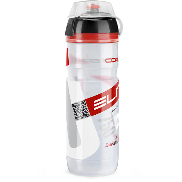 Elite Super Corsa MTB Color: Clear/Red