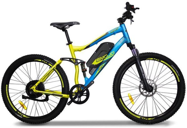 Emojo Bike Cougar Color: Blue/Yellow