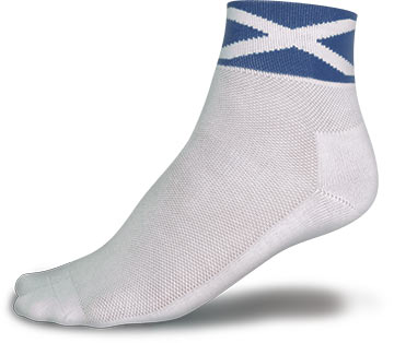 Endura CoolMax Race Socks Color: Saltire