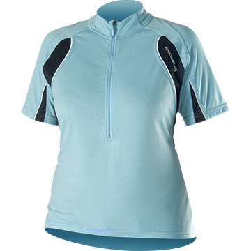 Endura Wms Rapido Short Sleeve Jersey Color: Blue