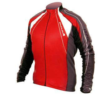 Endura FS260-Pro Jetstream Jersey Color: Red