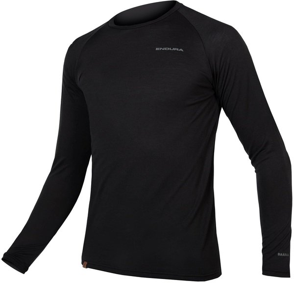 Endura BaaBaa Blend L/S Baselayer Color: Black