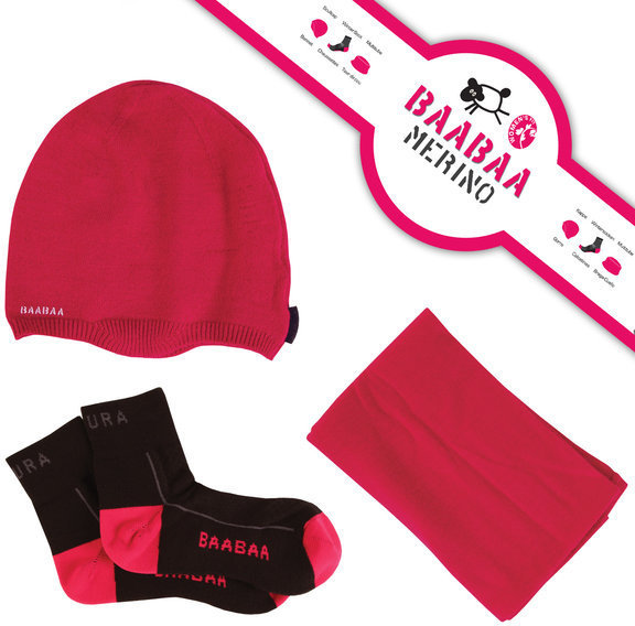 Endura Wms BaaBaa Gift Pack Color: Pink