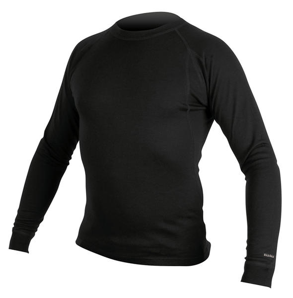 Endura BaaBaa Merino Long Sleeve Baselayer Color: Black