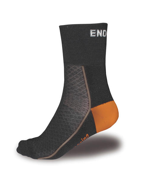 Endura BaaBaa Merino Winter Socks Color: Black/Grey