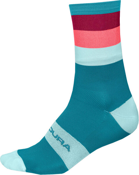 Endura Bandwidth Sock Color: Blue Paisley
