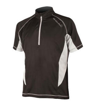 Endura Cairn Short Sleeve Jersey Color: Black