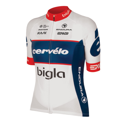 Endura Cervelo Bigla Team Wms S/S Jersey 2018 Color: Team Print