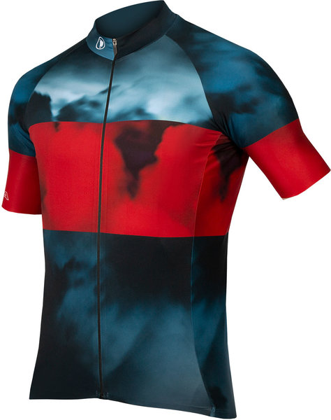 Endura Cloud S/S Jersey LTD Color: Blue