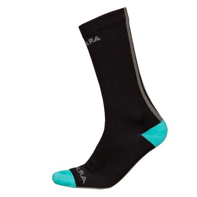 Endura Deluge Waterproof Sock Long Color: Black
