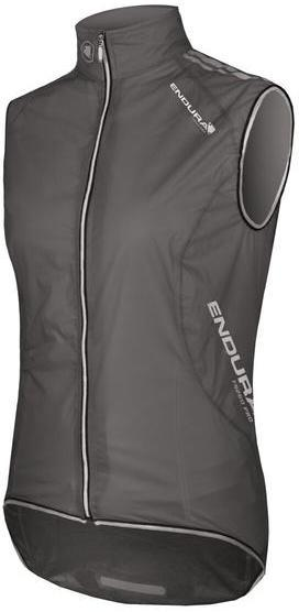 Endura Wms FS260-Pro Adrenaline Gilet Color: Translucent Black