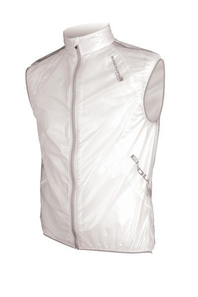 Endura FS260-Pro Adrenaline Race Gilet Color: Translucent White