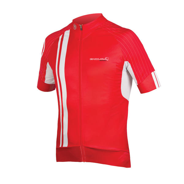 Endura FS260-Pro SL II Short Sleeve Jersey Color: Red