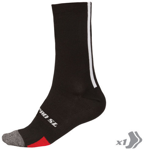 Endura Pro SL Primaloft Sock Color: Black
