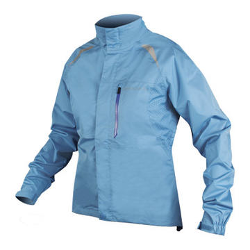 Endura Gridlock II Waterproof Jacket - Women's Color: Blue