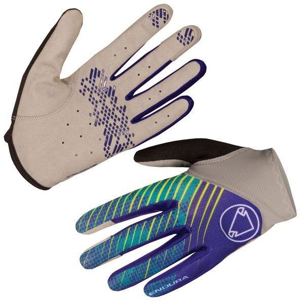 Endura Hummvee Lite Glove Color: Cobalt Blue