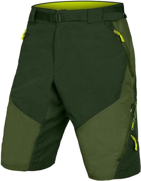 Endura Hummvee Short II w/Liner Color: Olive Green