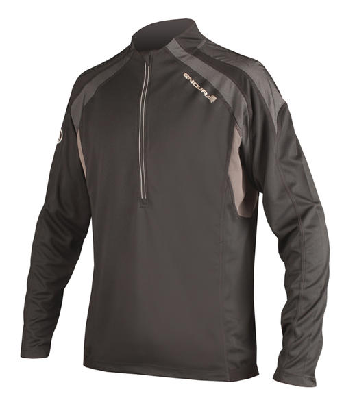 Endura Hummvee Long Sleeve Jersey Color: Black
