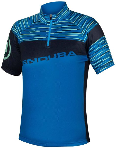 Endura Kids Hummvee Ray S/S Jersey Color: Azure Blue