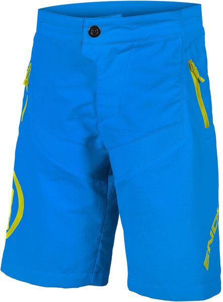 Endura Kids MT500JR Baggy Short w/Liner Color: Azure Blue