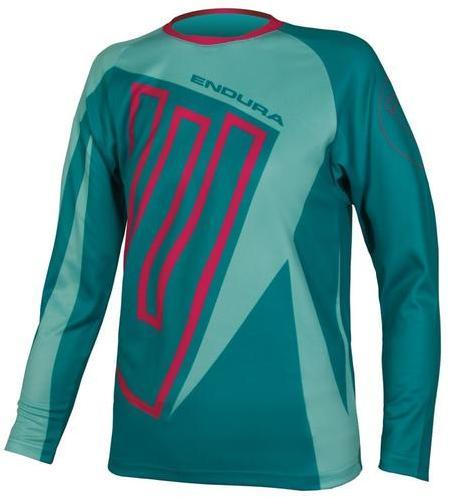 Endura Kids MT500JR L/S T Color: Teal