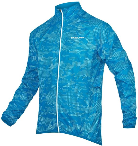 Endura LumiJak II Color: Hi-Viz Blue