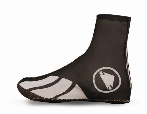 Endura Luminite II Overshoes Color: Black/Reflective