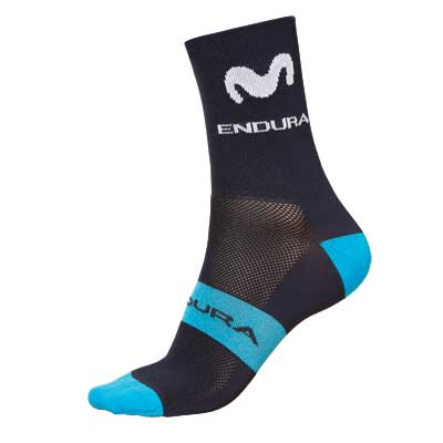 Endura Movistar Team Race Sock 2018