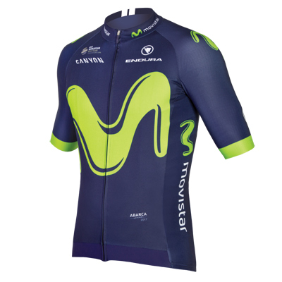 Endura Movistar Team S/S Jersey 2017 Color: Team Print