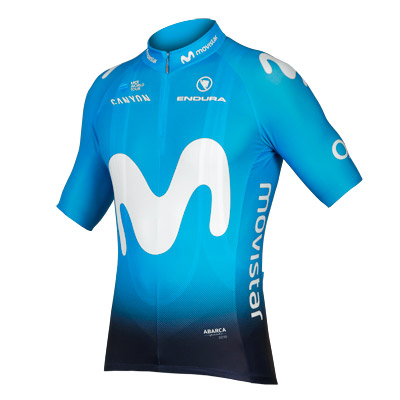 Endura Movistar Team S/S Jersey 2018