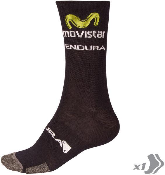 Endura Movistar Team Winter Sock 2016