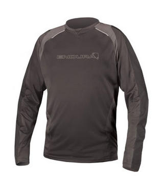 Endura MT500 Burner II Long Sleeve Shirt Color: Black