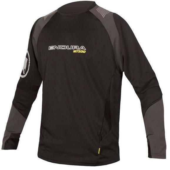 Endura MT500 Burner L/S Jersey Color: Black