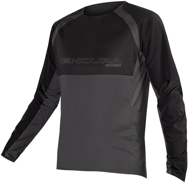 Endura MT500 Burner L/S Jersey II Color: Black