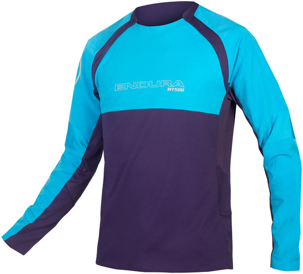 Endura MT500 Burner L/S Jersey II Color: Electric Blue