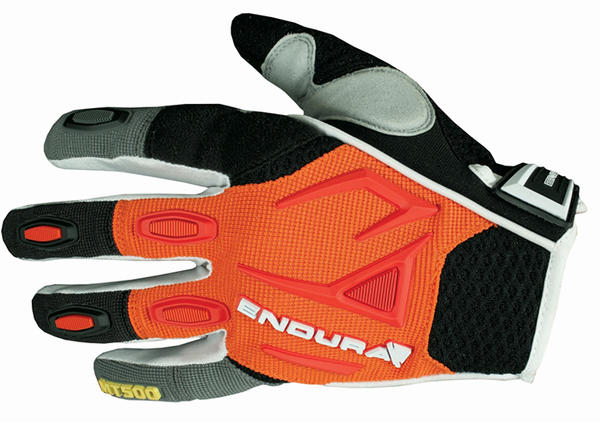 Endura MT500 Gloves Color: Orange