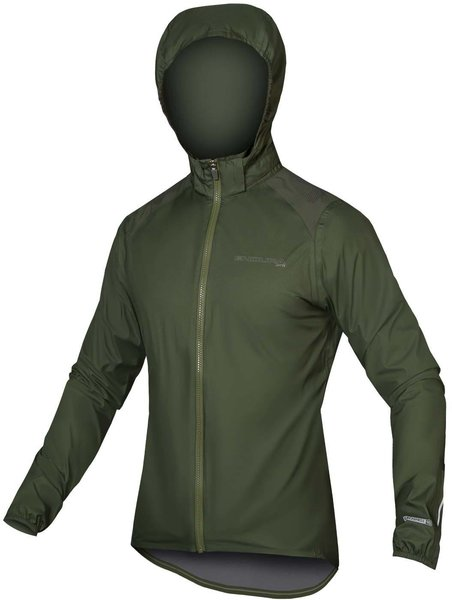 Endura MTR Shell Jacket Color: Forest Green