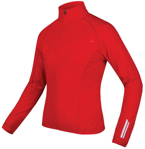 Endura Wms Roubaix Jacket Color: Red