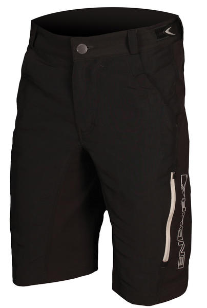Endura Singletrack II Shorts w/Liner Color: Black