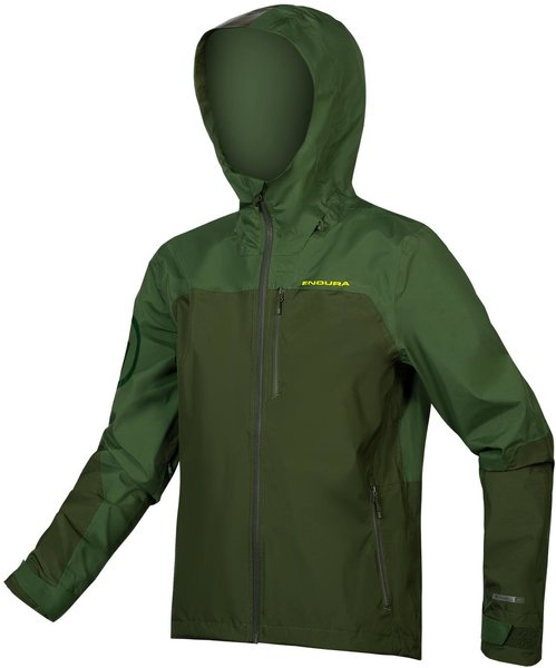 Endura SingleTrack Jacket Color: Forest Green