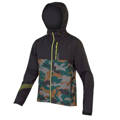 Endura SingleTrack Jacket II Color: Camo