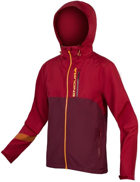 Endura SingleTrack Jacket II Color: Claret