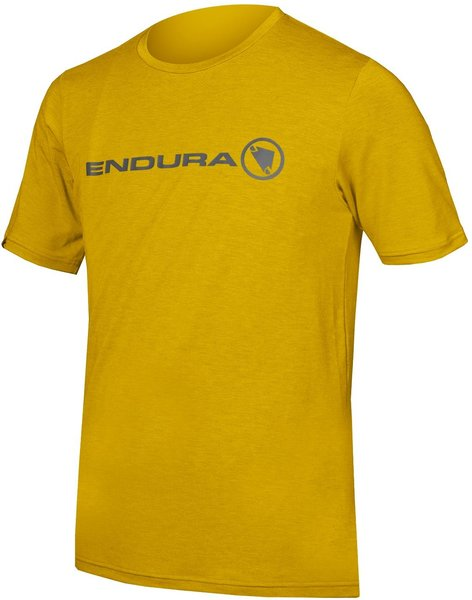 Endura SingleTrack Merino T Color: Mustard