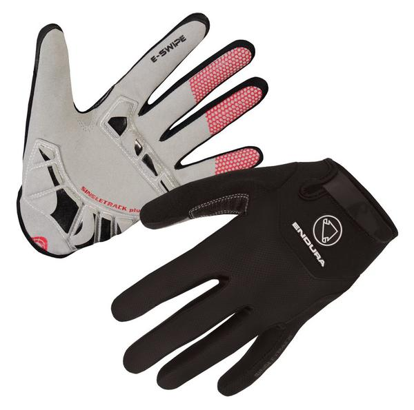 Endura Singletrack Plus Gloves Color: Black